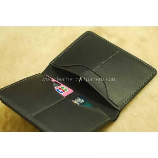 With instruction - Leather passport cover pattern pdf instant download SLG-86