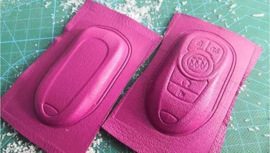 3D car key case making tutorial