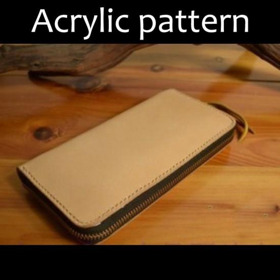 Laser cut Acrylic template, PMMA pattern, clutch template, A-3