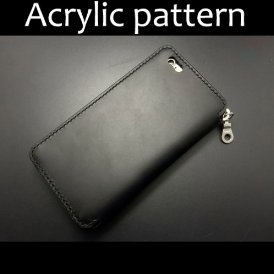 Laser cut Acrylic template, PMMA pattern, iphone 6 plus case template, A-53