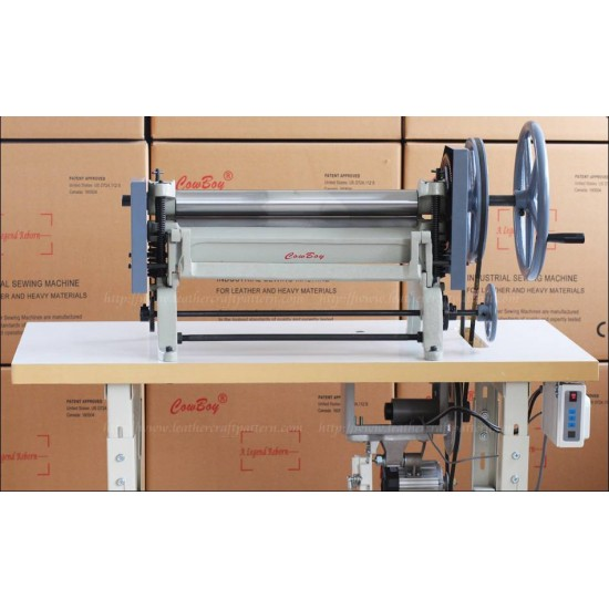 Free shipping worldwide - Cowboy 8020 economical leather splitting machine