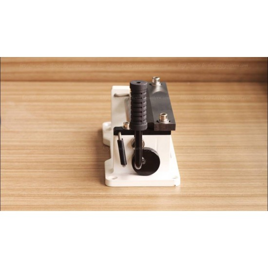 Free shiping worldwid by DHL-Leather skiving machine, Leather splitter, hand control