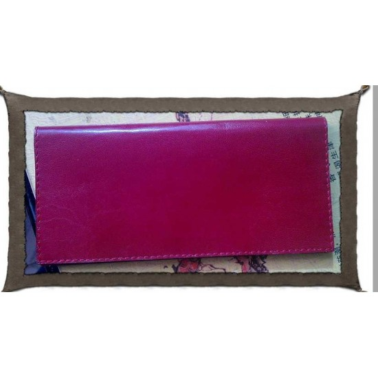 Free download long wallet leather pattern No.1