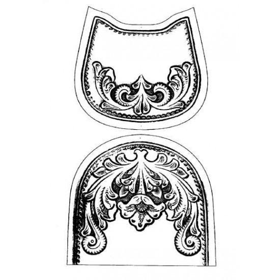 Free download saddle bag pattern No.17