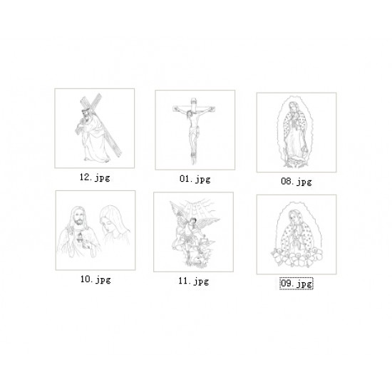 Free download Christianity carving pattern No.21