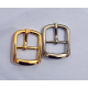 8pc/lot, Gold and silver kirsite cart buckle, inner diameter 20mm, Y2020-20mm