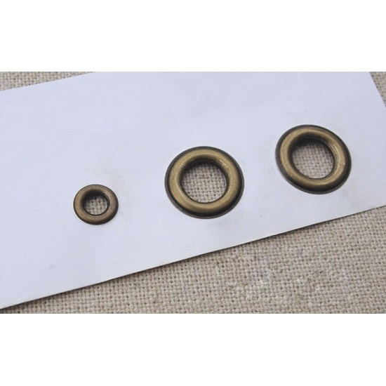 Eyelet install tool, leather tool