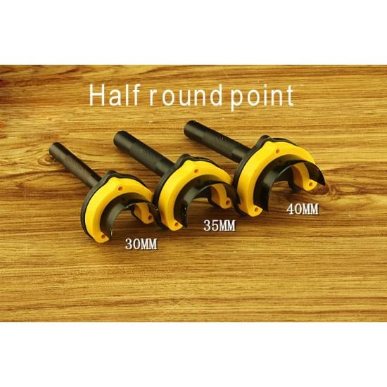 Premium Leather Belt Strap End Punches Choose 3 Styles 3 Sizes Lifetime Warranty half round point