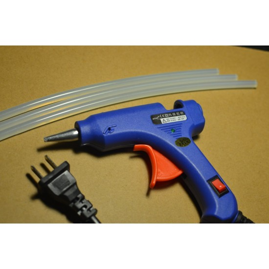 Hot Melt Glue Gun DIY Tools With 1pcs 270*7mm Glue Stick, 20W, 100V-240V