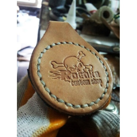 Leather craft tool, press tool, leather key holder die, leather belt die