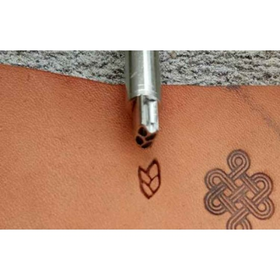 Leather stamp, leather craft tools, leathercraft tool, basket-23