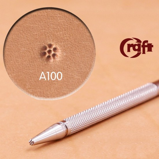 leathercraft tool leather stamp Craft Japan A100 background&pistil leather tools