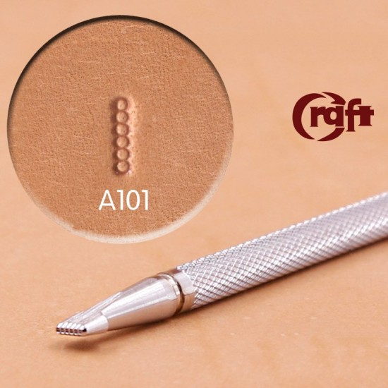leathercraft tools leather stamp Craft Japan A101 background leather tooling