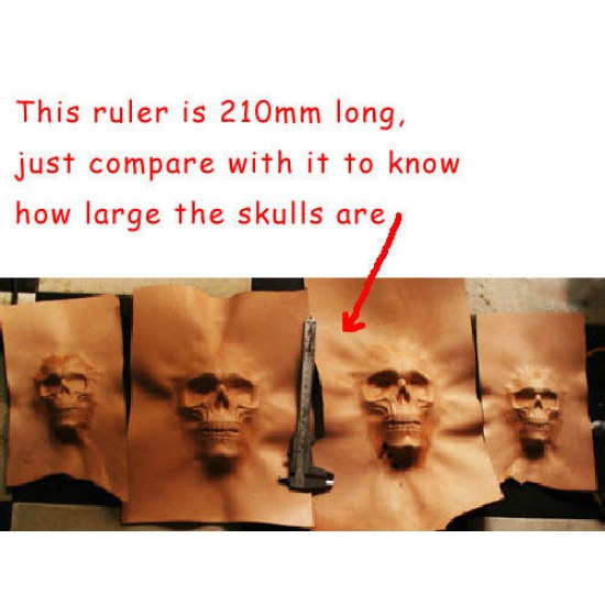 leather tools leather mould leathercraft tools leather craft tools skull mold