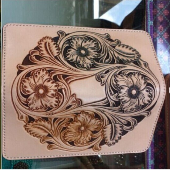 PDF Leather long wallet patterns, leathercraft patterns, leather tooling patterns, Instant download,SG-4,Leather tracking patterns
