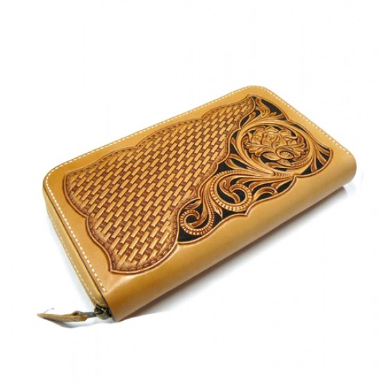 PDF Leather craft pattern long wallet pattern leather purse pattern Instant download sheridan-17 leather tracking patterns