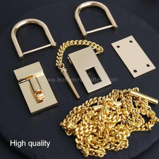 ACC-109 Chole Drew bag hardware kits
