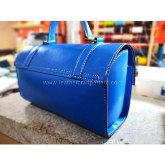 With instruction - barrel bag pattern PDF instant download ACC-111