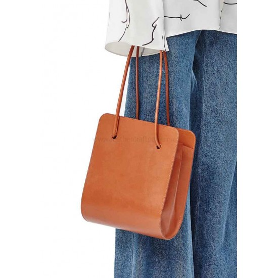 Square Bucket bag pattern Low classic leather bag patterns ACC-88 PDF instant download