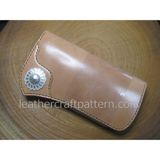 bag stitch patterns long wallet pattern PDF LWP-14 leather craft leather working leather working patterns bag sewing