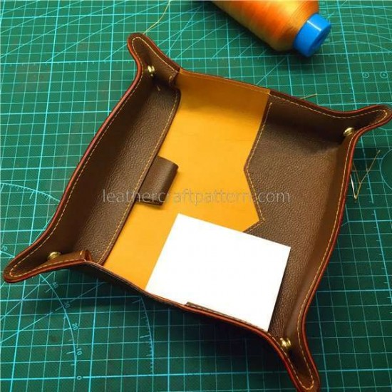 leather wallet sewing patterns long wallet leather plate pattern LWP-29