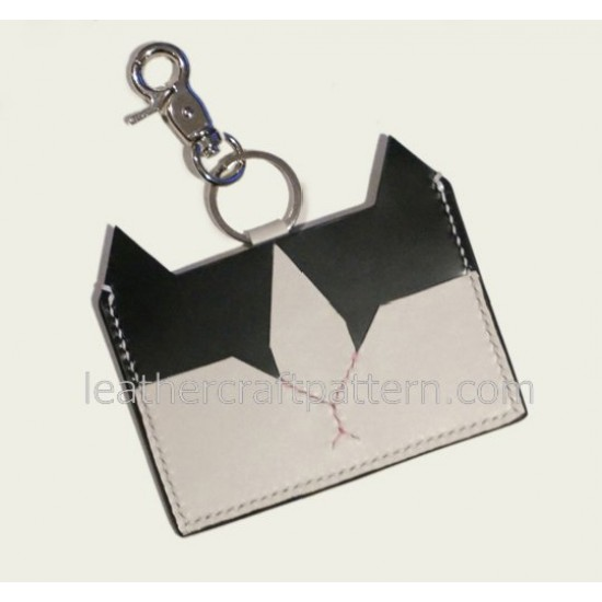 Leather patterns card holder pattern PDF instant download SLG-14 leather craft pattern