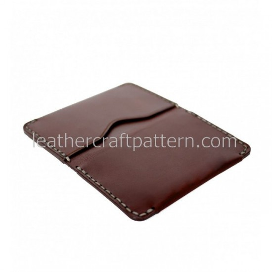 Leather patterns card holder pattern card protector SLG-45 PDF instant download leather craft patterns leather patterns leather template