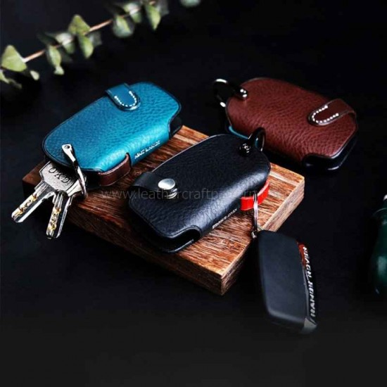Leather key holder pattern pdf instant download SLG-83